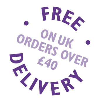 free delivery over £40