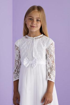 White Lace Bolero