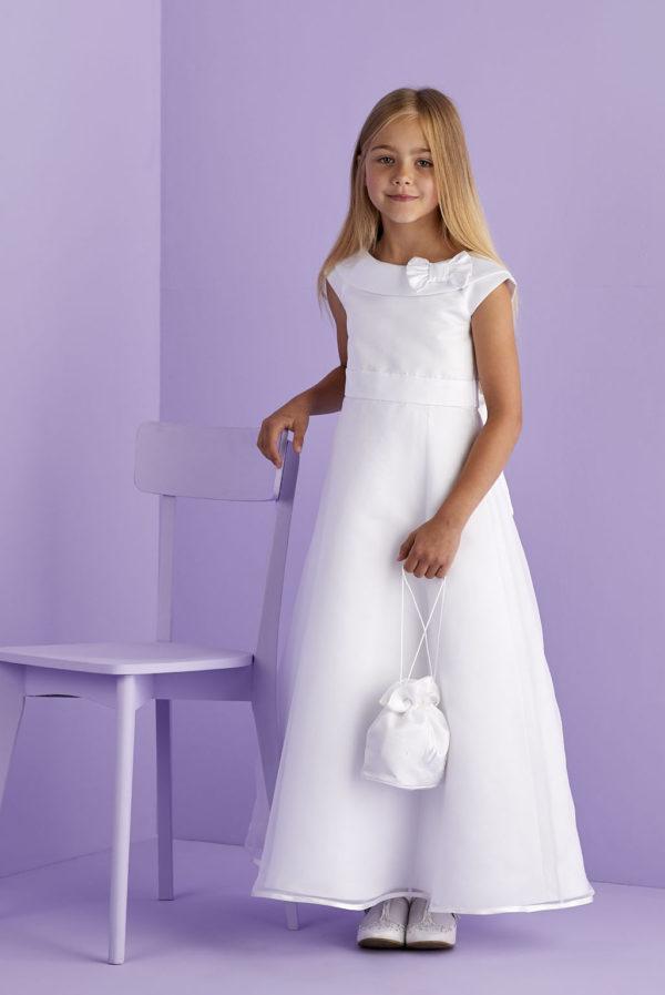 Meghan White Communion dress