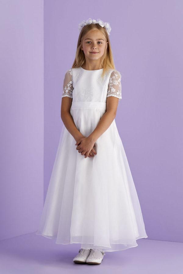 Melissa White Communion Dress