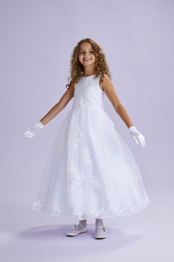 Lucinda White Communion Dress