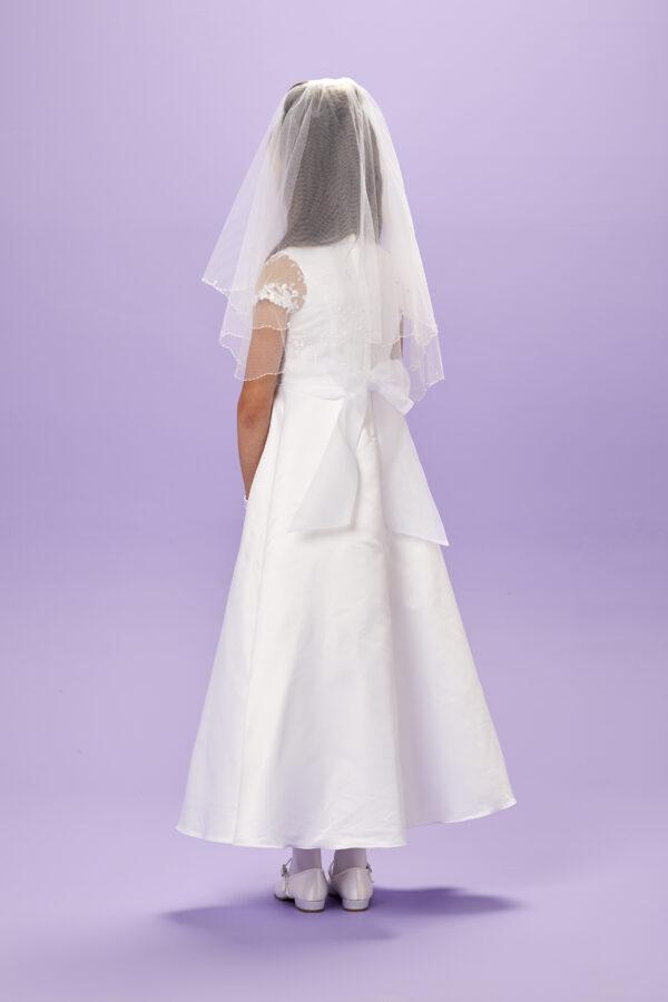 Theresa Communion Dress back